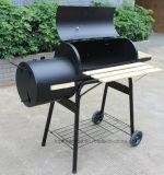 2 do jardim do fumador do carvão vegetal tambores da grade do BBQ
