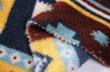 Franela impresa del poliester/tela coralina del paño grueso y suave - 14244-5 1#