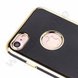 Galvanoplastie de 2 dans 1 point de droit pour l'iPhone pour l'iPhone 7