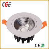 Downlight 천장 빛 7W/9W/12W LED 반점 빛 상점가가 LED 램프에 의하여 LED 아래로 점화한다