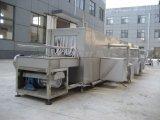 Type de pulvérisation d'eau chaude machine à laver de caisse en plastique