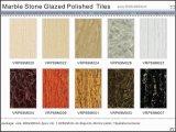Marmorstein glasig-glänzende Polierporzellan-Fußboden-Fliesen/Azulejo (VRP69M024)