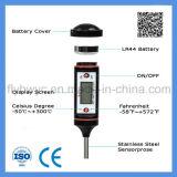 Termômetro de comida Termômetro de carne LCD instantâneo Termômetro digital de leitura para cozinhar líquido de cozinha