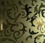 Расчетный бланк нержавеющей стали для украшения кухни стены лифта