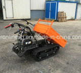 6.5HP Motor Powered, 300kgs Rubber Track Mini Dumper / Wheel Barrow / Muck Truck / Garden Transporter / Loader / Mini Transporter W CE Opcional Snow Arough