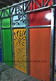 低価格のレーザーの切断による特別な鋼鉄壁の装飾のパネル
