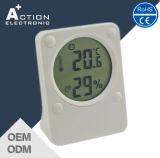Temperatura máxima/mínima de Digitaces del hogar y termómetro de la humedad con la cara del bebé