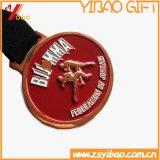 Изготовленный на заказ монетка металла логоса 3D с медальоном (YB-HD-36)