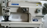Máquina de coser zig-zag con cambio automático de engrase y el gancho grande
