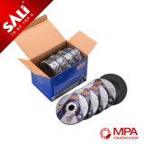 Disco abrasivo para corte de metales abrasivo 100*3*16 con la certificación del MPa