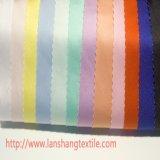 ワイシャツのカーテンのためのサテンのKationポリエステルファブリック