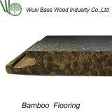 Suelo de bambú en el examen terminante con alta calidad