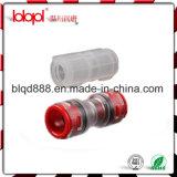 HDPE de Rechte Schakelaar van Microduct, Vrije Steekproef, HDPE de Koppeling van het Micro- Eind van de Buis, Buis 7/3.5mm,