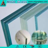 Railing Frameless плоский/изогнутый Tempered прокатанного стекла лестницы