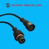 Cavo del connettore di Pin IP68 RoHS di tecnologia 2-12 di professione