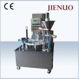 茶カプセルKのコップのコーヒー粉の充填機