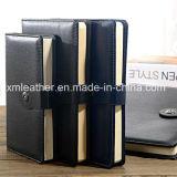 Journal de la composition de la conception en cuir pour ordinateur portable