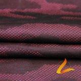 운동복 적당 (LTT-CT#)를 위한 폴리에스테 스판덱스 Lycra 뜨개질을 한 탄력 있는 직물