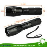 선물 상자를 가진 저속한 가벼운 알루미늄 합금 휴대용 LED 토치 플래쉬 등