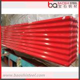 Лист толя высокого качества Corrugated стальной для строительных материалов