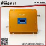 2018 Nouvelle conception 2g 4g Signal Booster à double bande de bureau à domicile amplificateur de signal avec antenne de WT