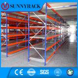 Shelving resistente de Longspan do armazenamento do armazém industrial
