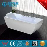 La moda de acrílico blanco bañera con grifería (BT-S2505)