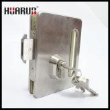 아연 합금 손잡이 HR-1137/HR-1136를 가진 유리제 자물쇠: