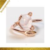 De Zilveren Ring van de Douane van de Fabrikant van juwelen met Zircon voor Meisjes