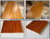 Plancher en bois de parquet conçu par teck normal de la Birmanie