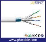 FTP 4つのペアのRoHS LSZH PVC CAT6A