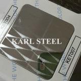 Blatt 201 Edelstahl-silberne Farbe geprägtes Kem003