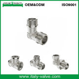 Gomito d'ottone di lucidatura di qualità di OEM&ODM (AV-BF-8003)