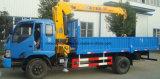 4 ton die de Vrachtwagen van de Vrachtwagen met Kraan 8t Wrecker met de Vrachtwagen van de Kraan opheffen