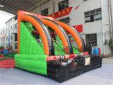 Deporte al aire libre Juego inflable del aro de baloncesto para adultos