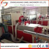 Perfil de mármol artificial compuesto plástico de piedra del PVC que hace la máquina