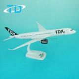 Gift van de Herinnering van de Luchtvaartlijnen van het Vliegtuig van de Schaal van Tda A350 33cm de Plastic Model