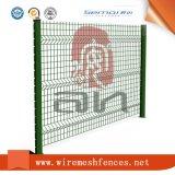 изогнутая 3D фабрика панели загородки ячеистой сети