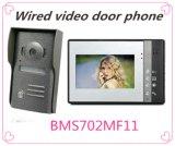 Téléphone visuel libre de porte de main de 4 fils avec la fonction d'intercom