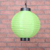 Lanterne solaire chinoise de couleur chinoise