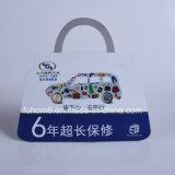 Kundenspezifische gedruckte Plastik-Belüftung-Fallmarke/Hangtag