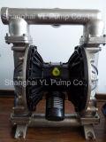 ステンレス鋼の空気によって作動させる膜ビールポンプ