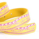 Enfant Mode impression en cuir PU ceinture mignonne (RS-050608)