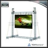 Système extérieur d'armature d'écran de DEL pour l'exposition