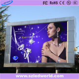 Muestra a todo color fija al aire libre de la tablilla de anuncios de LED de SMD HD para hacer publicidad (P6, P8, P10, P16)
