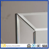 Polished Edge Custom Frameless Floor Stand Dressing Mirror
