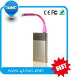 2 em 1 lâmpada de luz LED USB para USB e Micro Phone