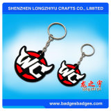 Pvc 3D Keychain van SOFT van de douane met Your Own Logo