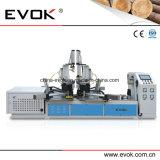 첨단 기술 CNC 고주파 목제 프레임 합동 및 네일링 기계 Tc 868b
