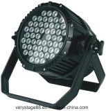 1개의 LED 동위 빛에 대하여 방수 옥외 54X3w 옥외 RGBW 4